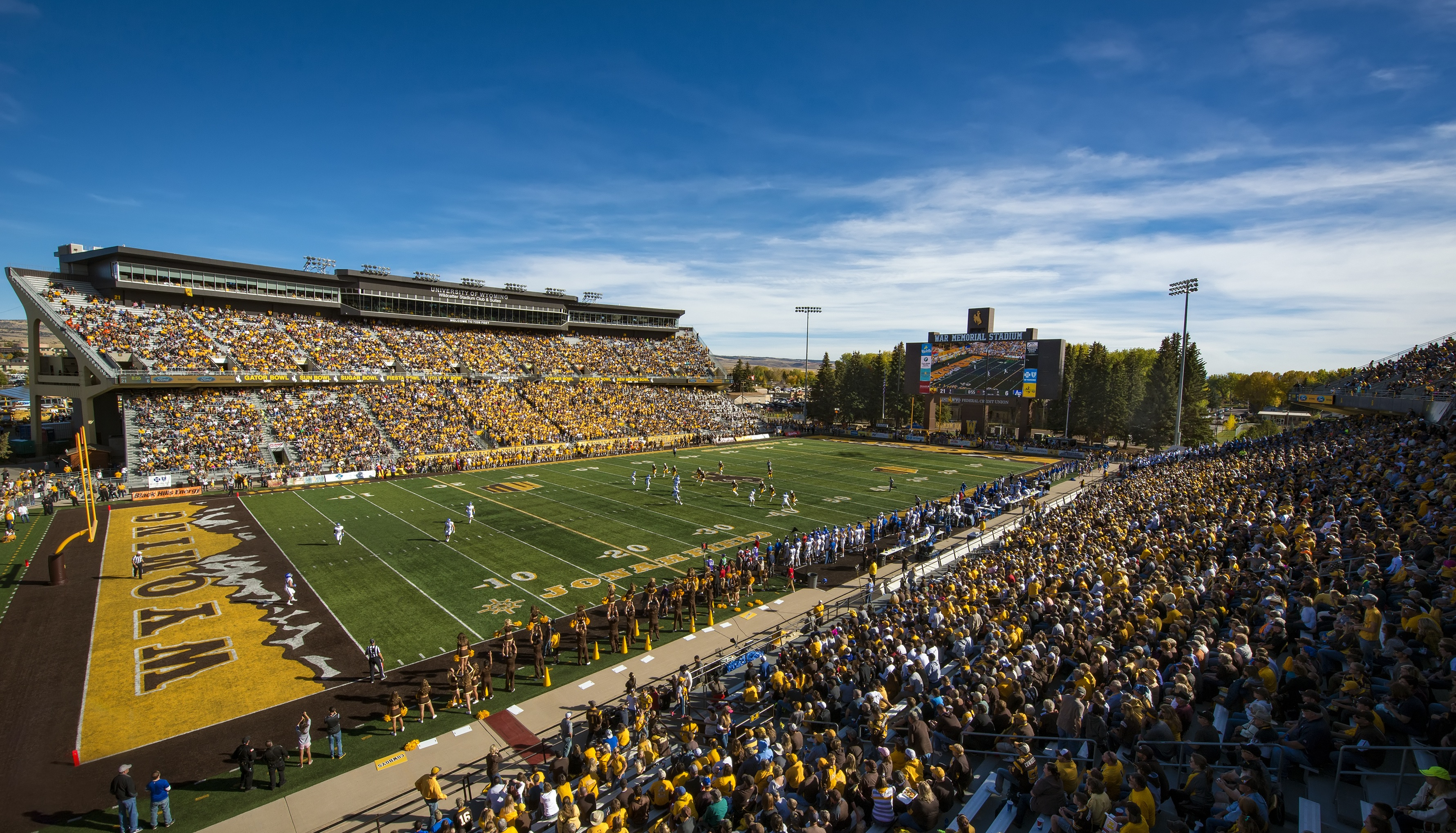 Wyoming Announces Future Football Games At Arizona State And Vs