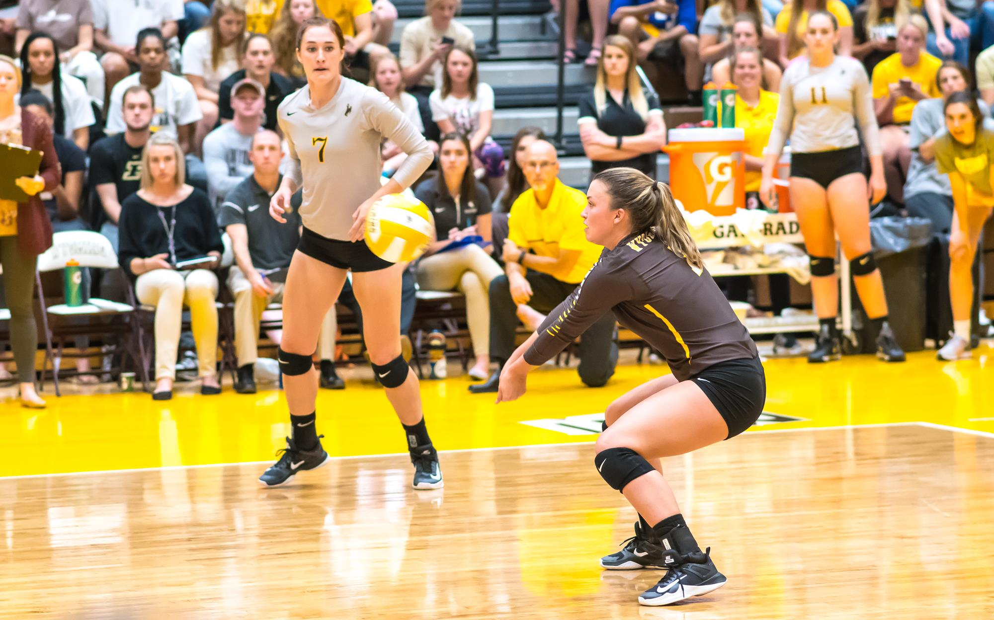 Wyoming Falls In Four To No 20 Colorado State University Of Wyoming Athletics