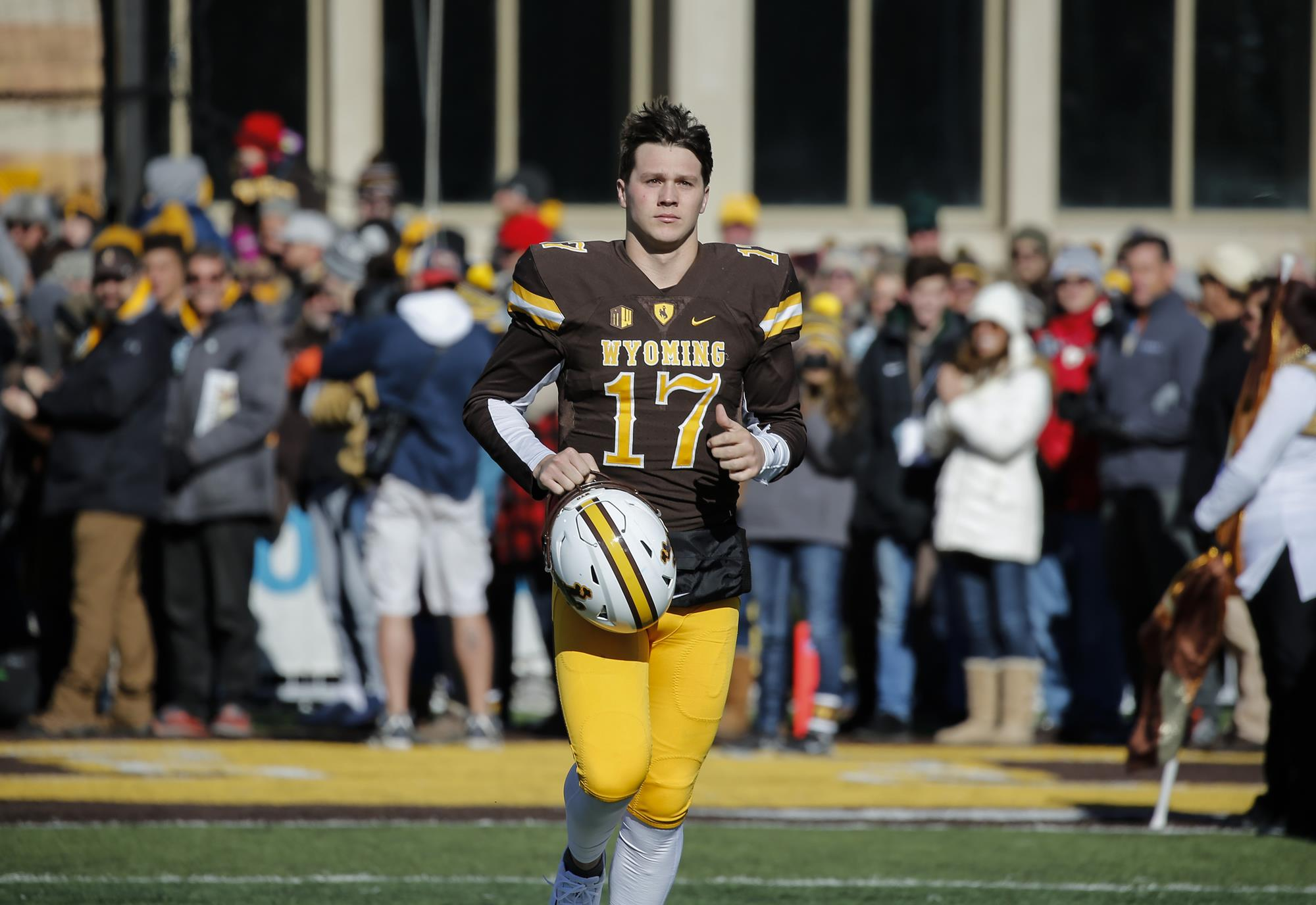 super popular bb4aa a8ff6 Josh Allen to Play in Reese's Senior Bowl on Saturday ...
