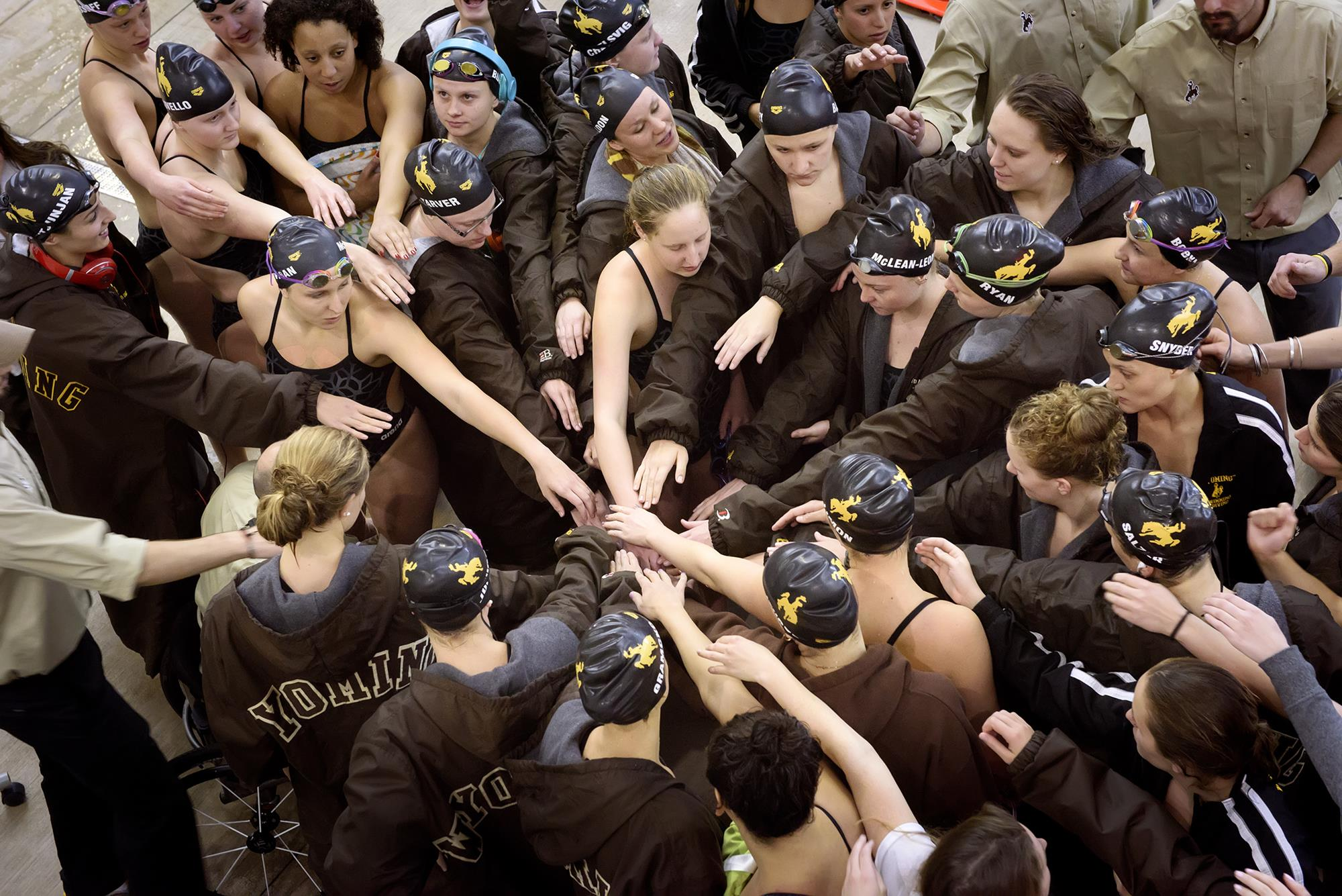 Wyoming Swimming and Diving Honored for Work in Classroom