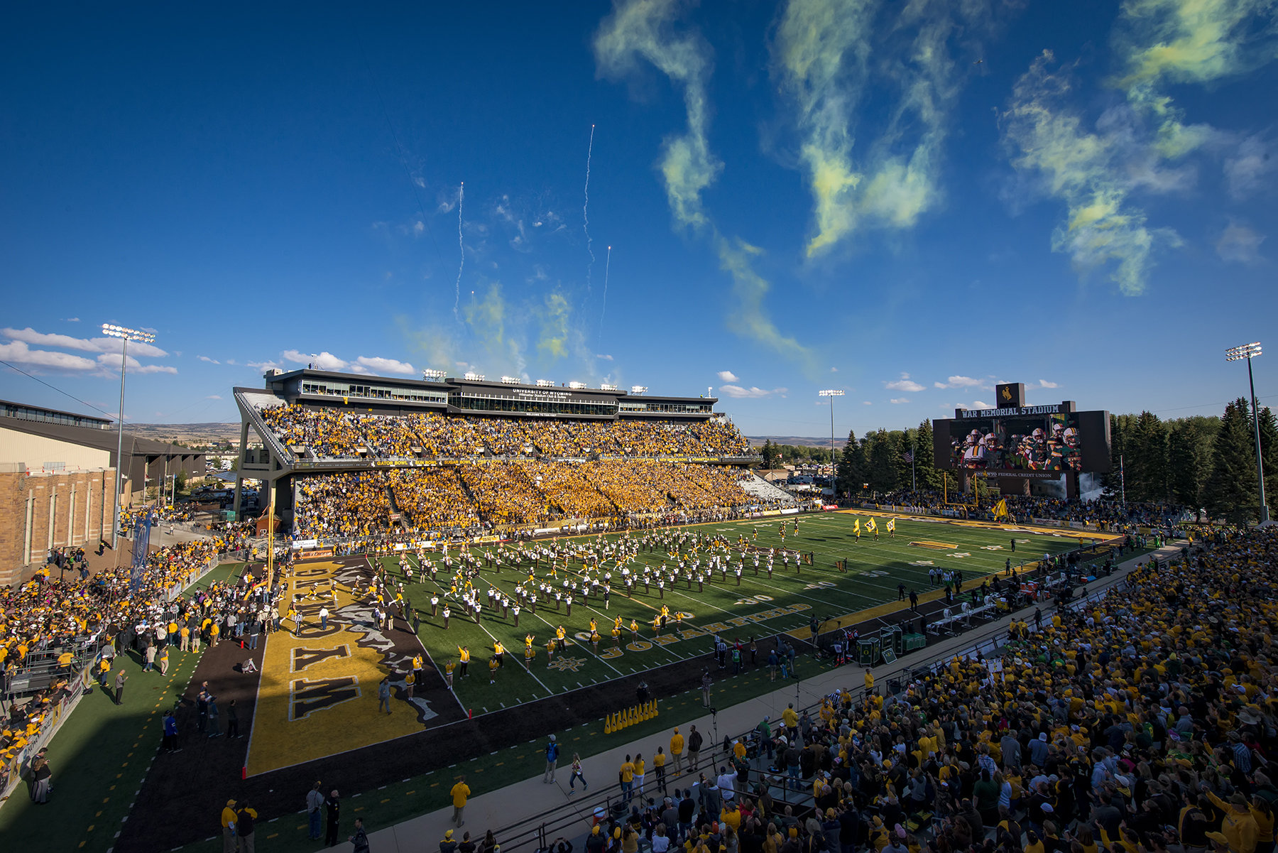 Fan Information For Wyoming Football Fans Prior To Saturday S